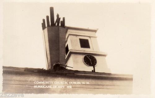 The September 1938 hurricane